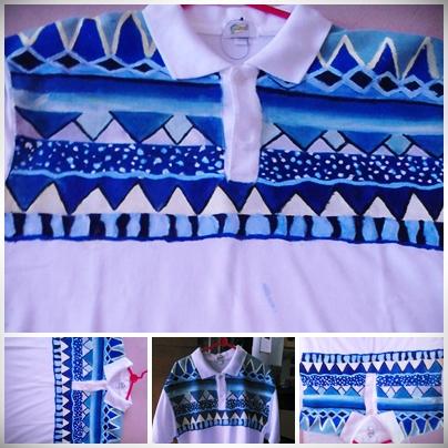 tribal biru