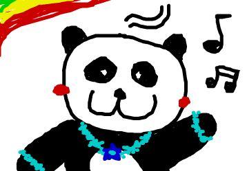 dancing pandaa