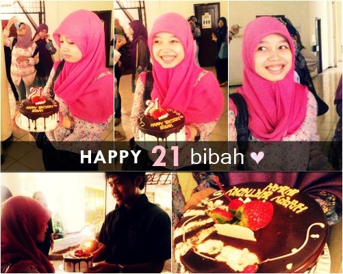 happy 21 bibah