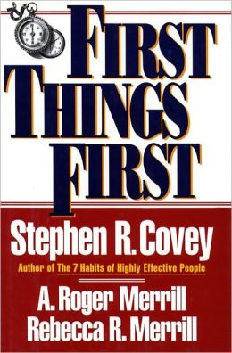 first things first cover