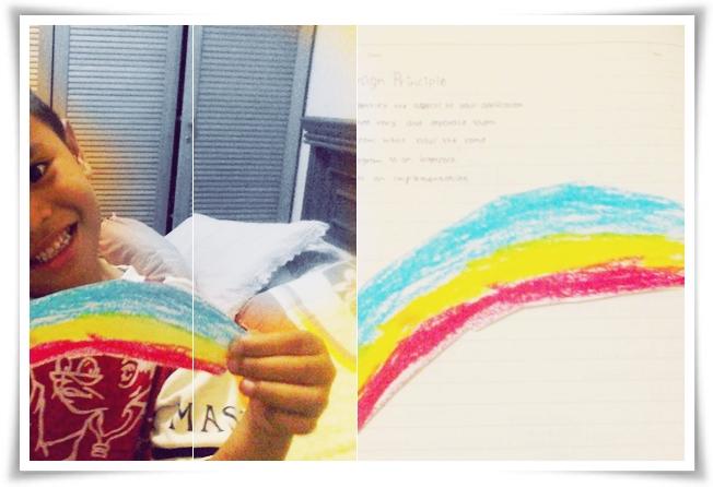 rainbow from abang