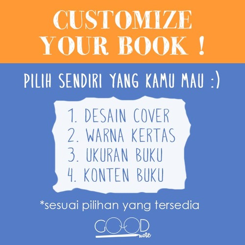 Customize Your Book! @GoodNoteID