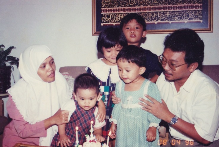 When I was 3