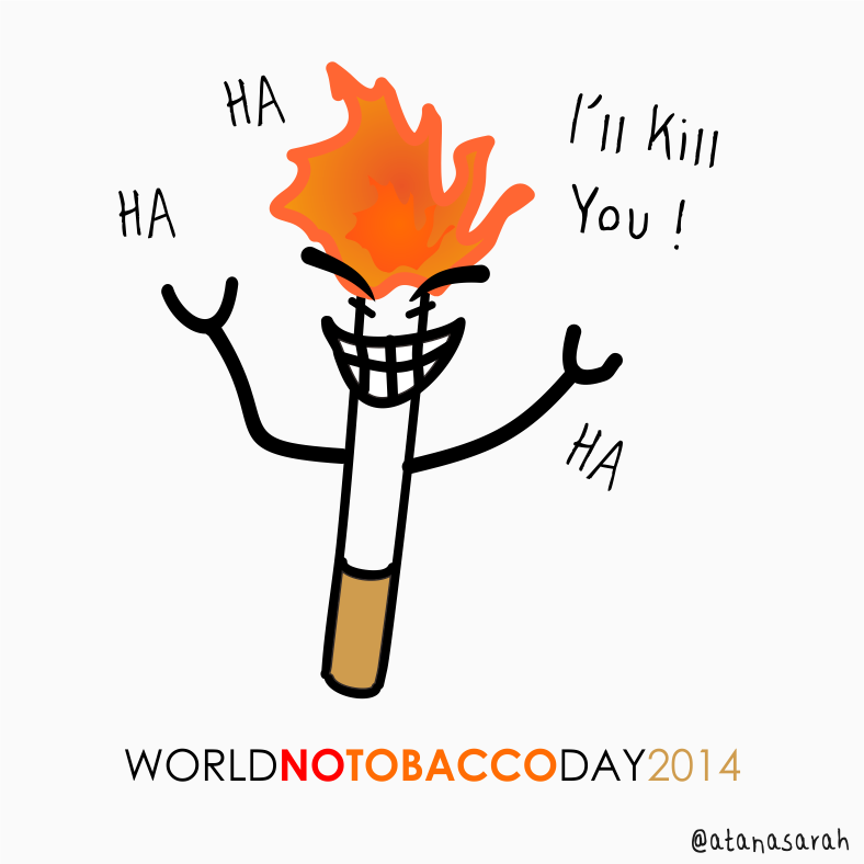 World Hello Day World no Tobacco Day 2014