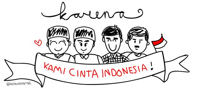 Siapapun presidennya, tujuannya untuk Indonesia tercinta
