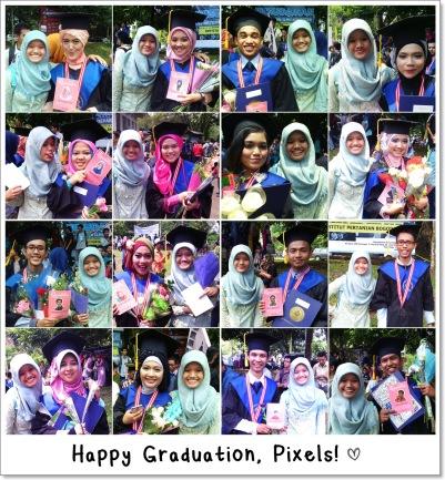 pixels graduation 030914