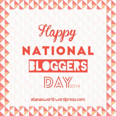 national bloggers day
